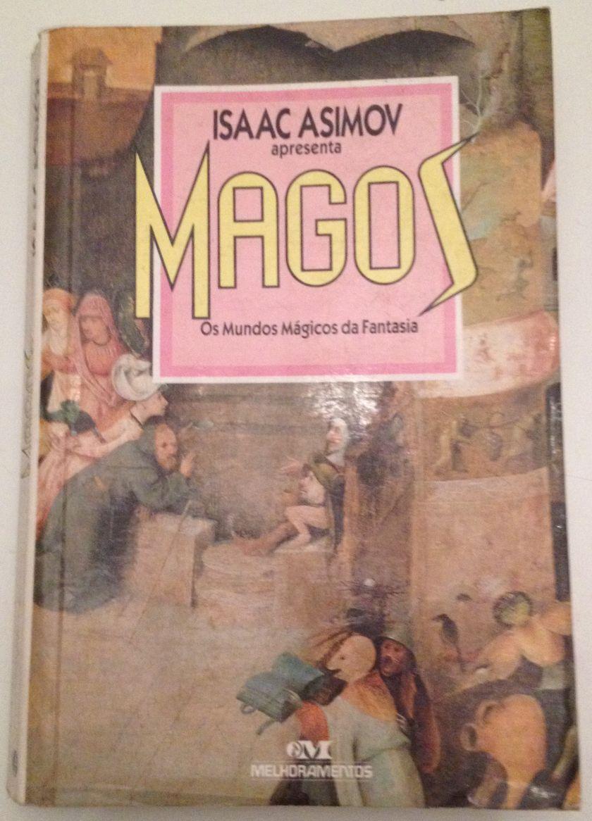 Capa do livro Isaac Asimov - Magos